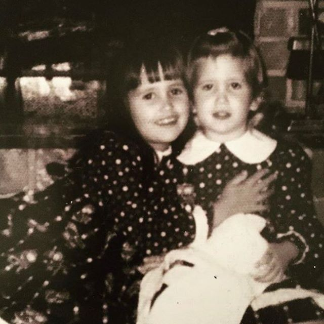 """""""Sisters function as the safety nets in a chaotic world simply by being there for each other."""" Happy 5-0 to my safety net, my big sis! Love you, Amy! #sisters #newdecade"""