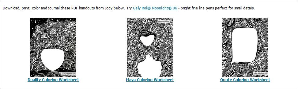 Printable Art Project Coloring Worksheets Jody Pham – Printable Art Worksheets