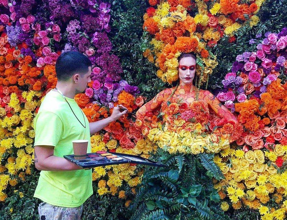 Jerod DTOX Davies    artist + muralist + body painter