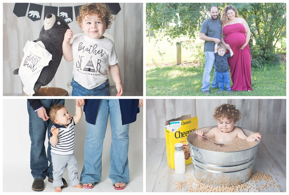 Pick Five $2000  Includes 5 sessions of your choice. Choose from Announcement, Maternity, Full Newborn, Milestone, Lifestyle, Fresh 48, Cake Smash, Milk Session. This is great for a family that wants to document a variety of special moments.