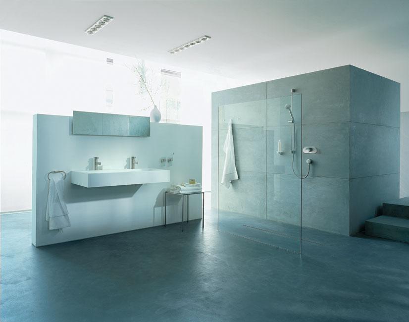 Comptoir de salle de bain moderne