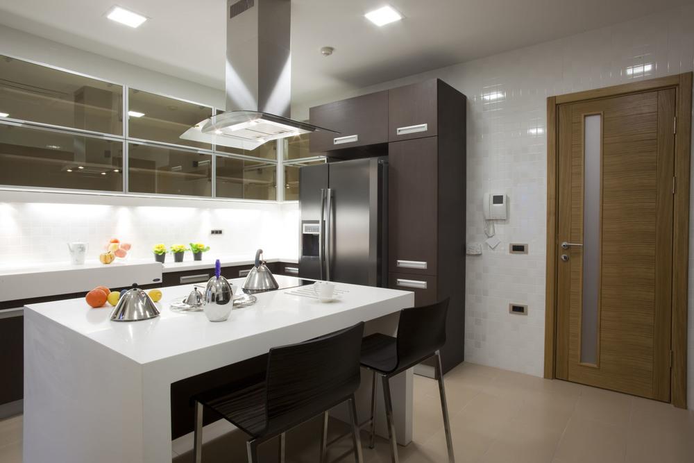 Comptoir de cuisine en bois 100 ides de cuisine avec lot for Comptoir cuisine americaine
