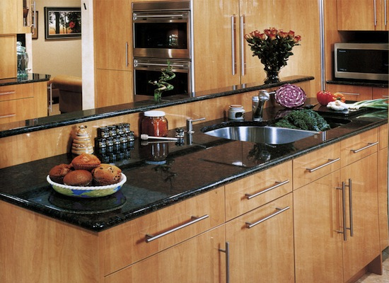 kitchen granite countertops granite au sommet. Black Bedroom Furniture Sets. Home Design Ideas