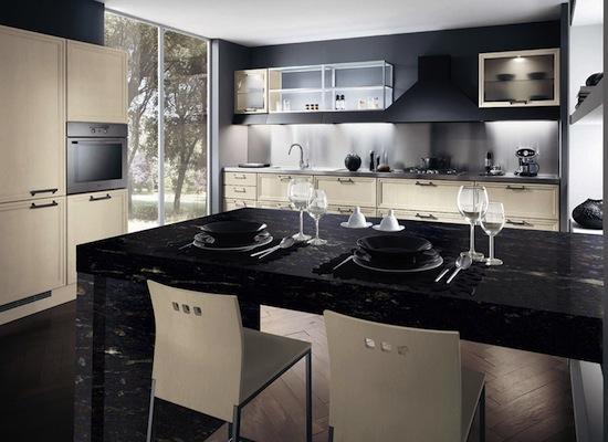 kitchen granite countertops comptoir cuisine granite. Black Bedroom Furniture Sets. Home Design Ideas