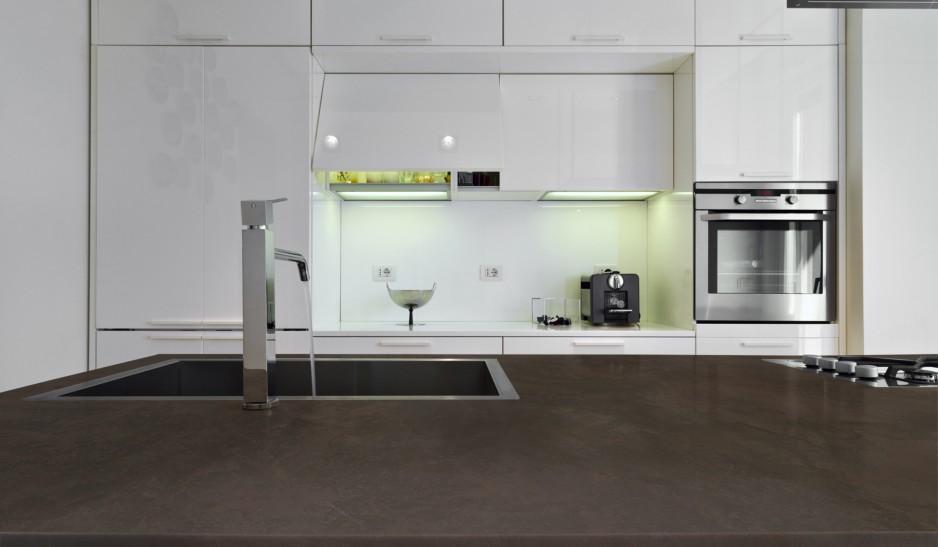 Comptoir dekton keranium cuisine