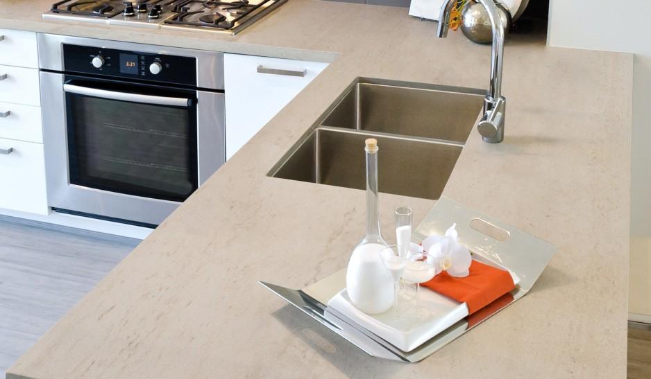 Dekton Countertops Kitchen Danae Montreal