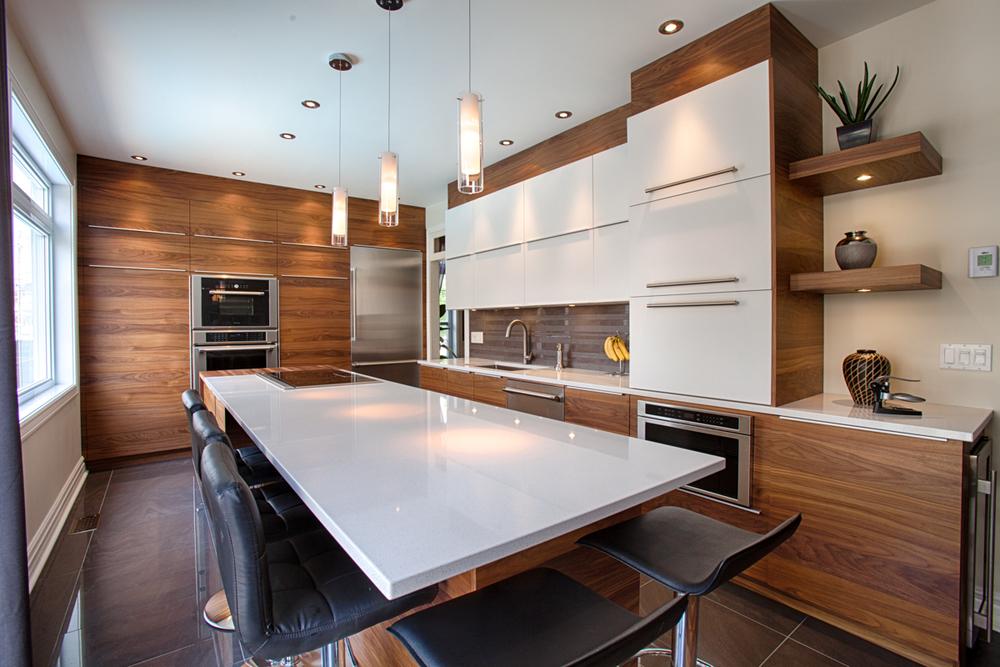 Comptoir de cuisine comptoirs granite quartz kitchen for Cuisine quartz gris