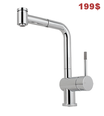 Robinet Lavande Nickel/Stainless steel en vente, version chrome prix normal