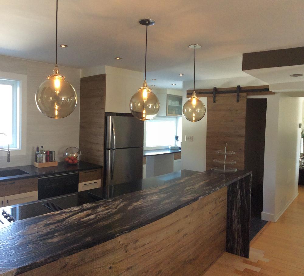 types de finis les plus populaires pour un comptoir de granite ou de marbre granite au sommet. Black Bedroom Furniture Sets. Home Design Ideas