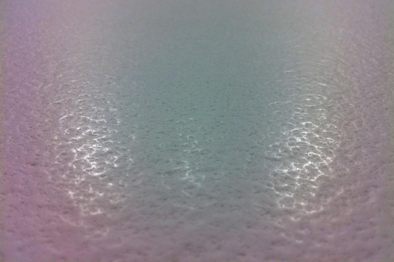 comptoir quartz texture blanc volcan