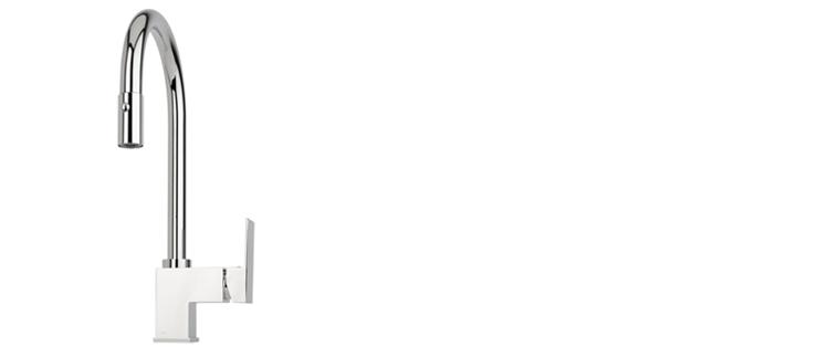 Robinet de cuisine RUBI avec douchette 2 jets PESTO