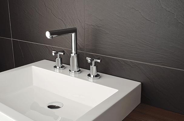 Robinet de lavabo salle de bain Rubi Gael avec poignees