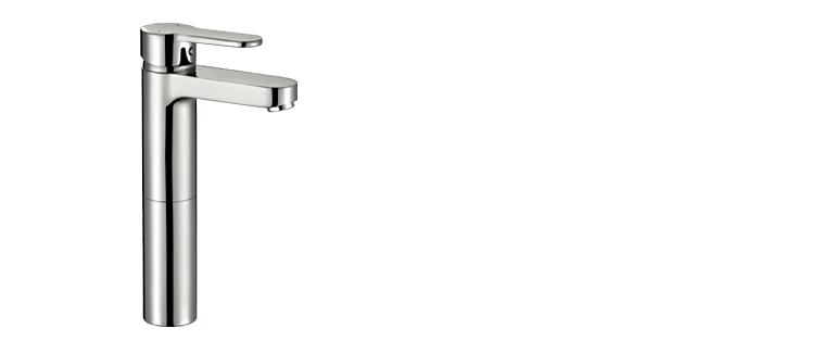 Robinet lavabo salle de bain Rubi Uno surélevé 2x