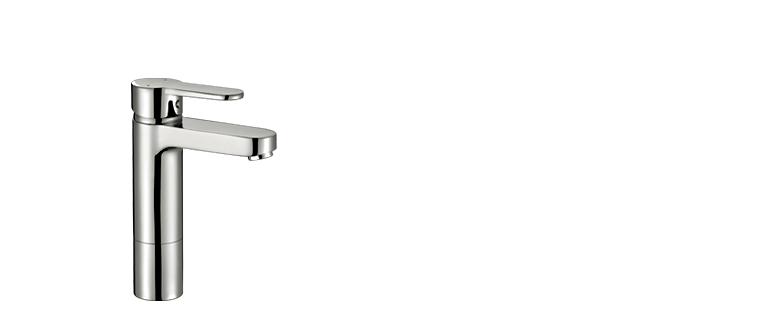 Robinet lavabo salle de bain Rubi Uno surélevé