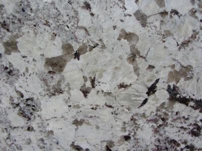 Comptoir Granite Blanc Brun Alaska White