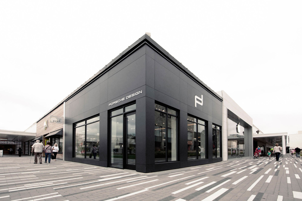 Dekton facade ventilee montreal automobile porsche