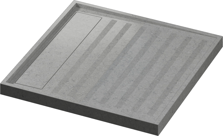 Quartz Shower Base Kador