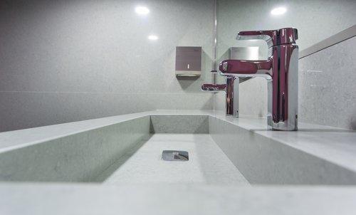 Lavabo De Salle De Bain En Quartz Comptoir De Quartz Comptoir De