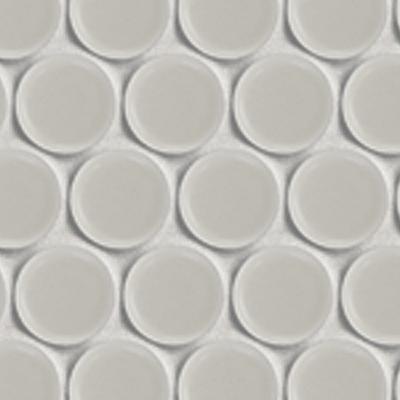 Hex & Dac, round white matt