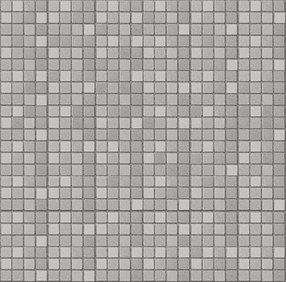 CR, light grey mosaico