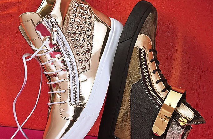 Photo of Giuseppe Zanotti sneakers from Saks.com