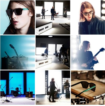 Images from Burberry Spark Sunglasses Campaign