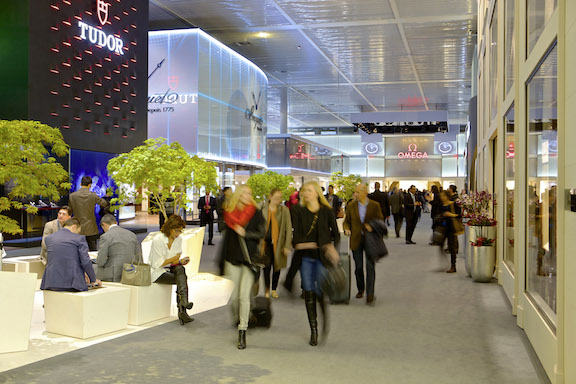 Watch buyers at Baselworld, the watch industry's largest tradeshow.