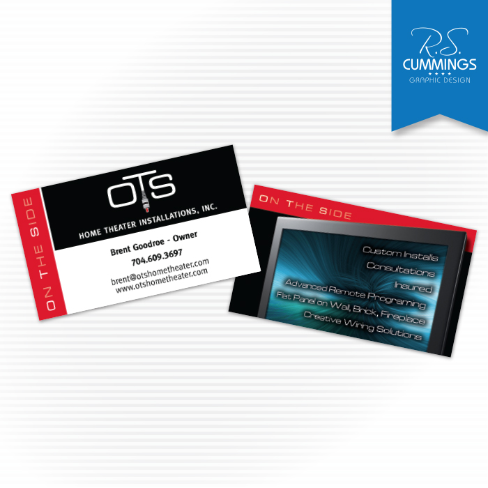 Print graphic design high point nc greensboro nc rs business card for home theater installer reheart Images