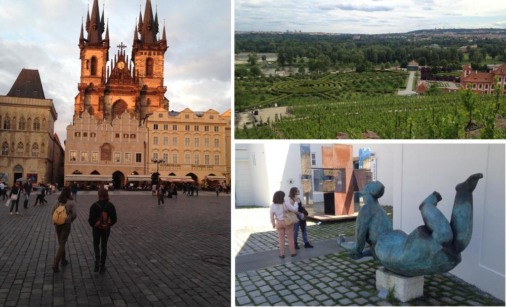 Prague's Old Square, Troja Chateau and Museum Kampa