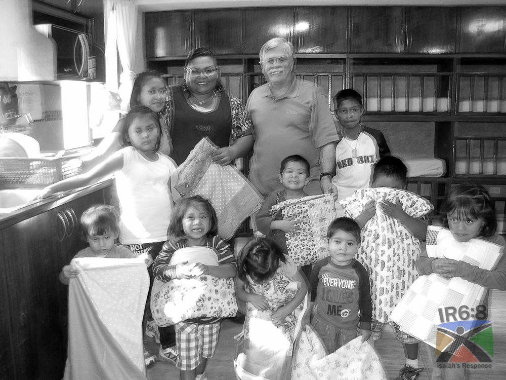 Baby quilts sewn by ladies from Second Baptist Church Houston-North Campus for the children of Casa Mana in Guatemala City