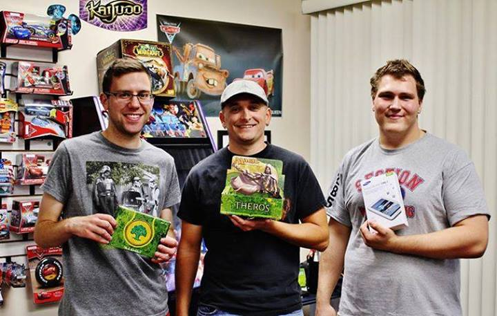 Chad Thompson posted this from Gamez & More with some awesome Theros and Kaijudo in the image, how could you possibly go wrong!?