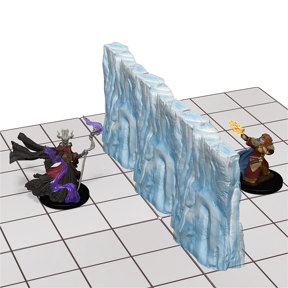 WizKids Dungeons & Dragons - Spell Effects - Wall of Ice