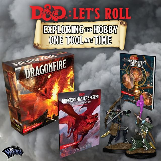 In honor of Gary Gygax's birthday, we're Introducing Dungeons & Dragons: Let's Roll, a four week exploration of everything an adventurer needs to start playing D&D or improve their party's quest experience! D&D: Let's Roll starts Monday, July 30th and runs until August 24th. . Plus, we're launching an incredible giveaway of the entire D&D campaign library to one lucky Grand Prize Winner on August 27th. Check the link in our bio to learn all about D&D: Let's Roll and how you can enter to win by engaging with our weekly content. . @wizardsofthecoast @dndwizards #chrisperkins #galeforce9 @wizkidsgames #dungeonsanddragons #dnd #rpg #tabletoprpg #tabletop #gaming #games #game #gamer #tips #advice #giveaway #PHB #monstermanual #playershandbook #cteam #acqinc #criticalrole #critter #wafflecrew #roleplayinggame #roleplay #curseofstrahd #stormkingsthunder #tyrannyofdragons #tombofannihilation #outoftheabyss #garygygax