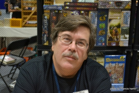 Legendary Game Designer, Steve Jackson of Steve Jackson Games
