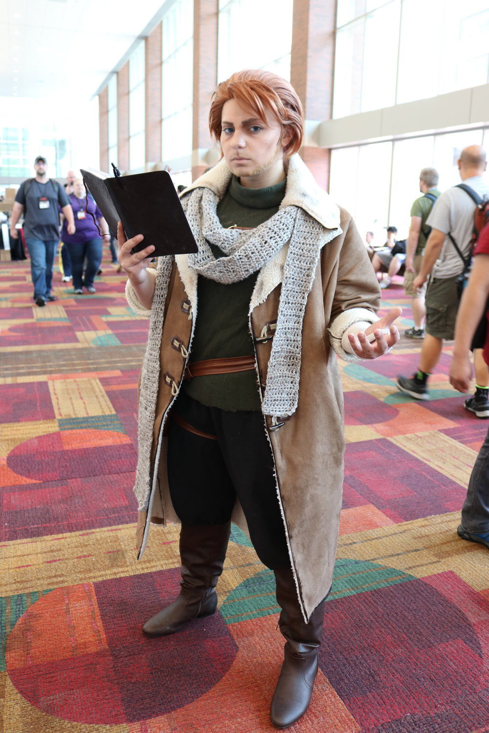 Armaria Cosplay as Caleb from Critical Role