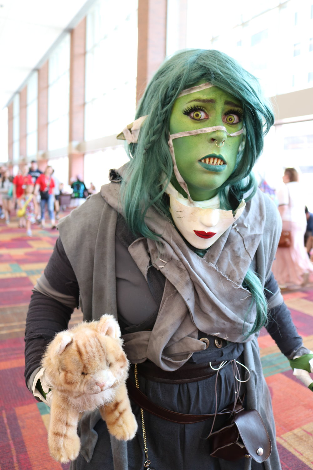 "Turnfolio Cosplay as Nott ""The Brave"" from Critical Role"