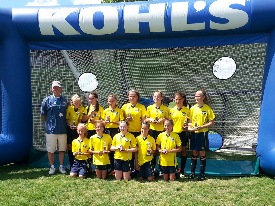 Ames Gold, Runners Up U11/U12