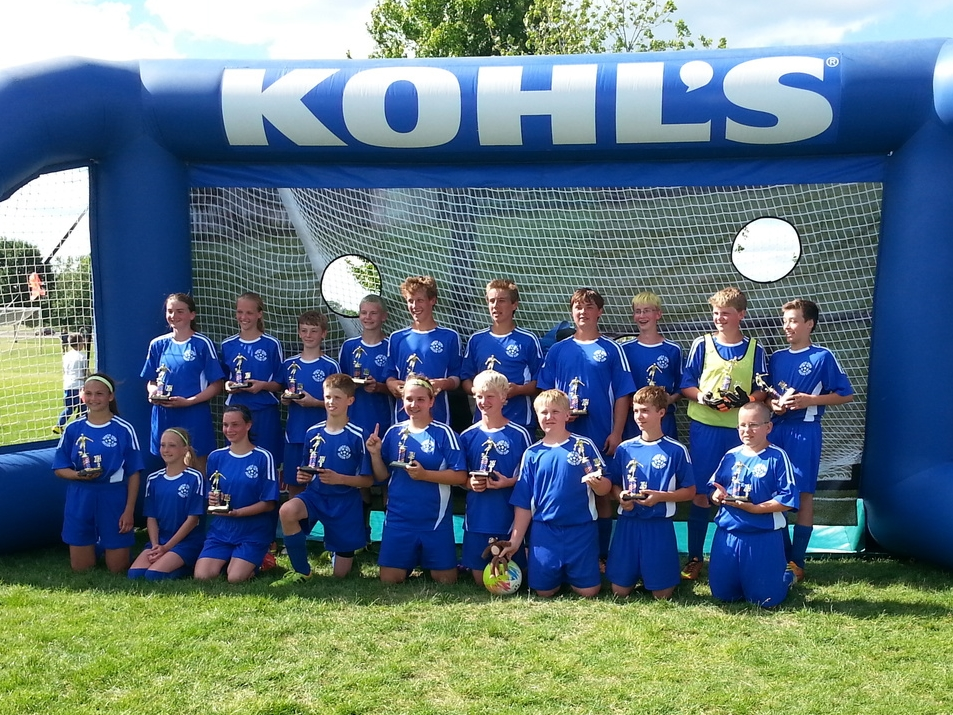 North Iowa Dragon Monkeys, U13/U14 Champs