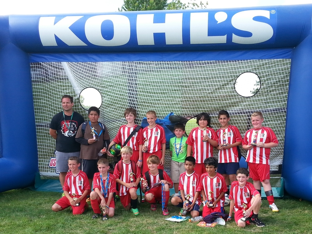 North Polk Utd, U12 Runners up
