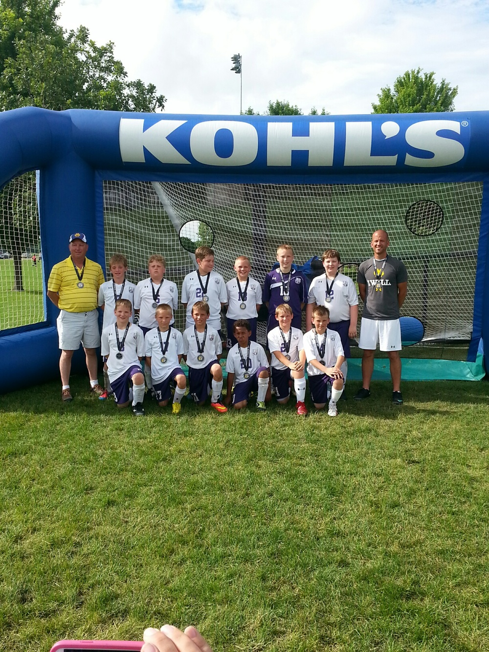 U11 Runners Up FC Nevada