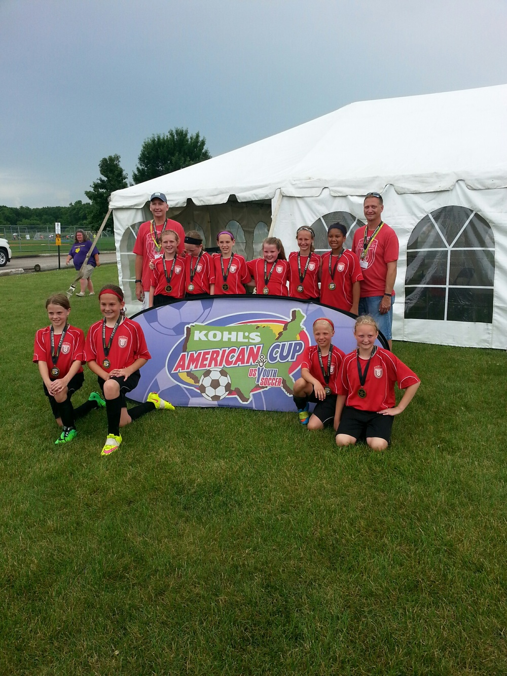 U11 Champs North Polk United