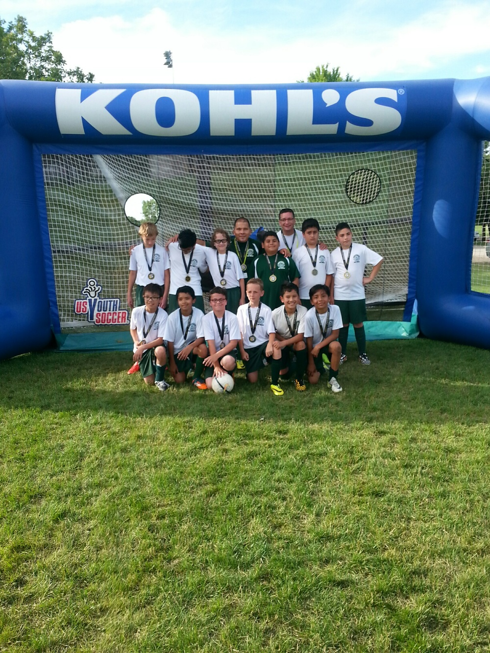 U12 Champs Northwest Kings