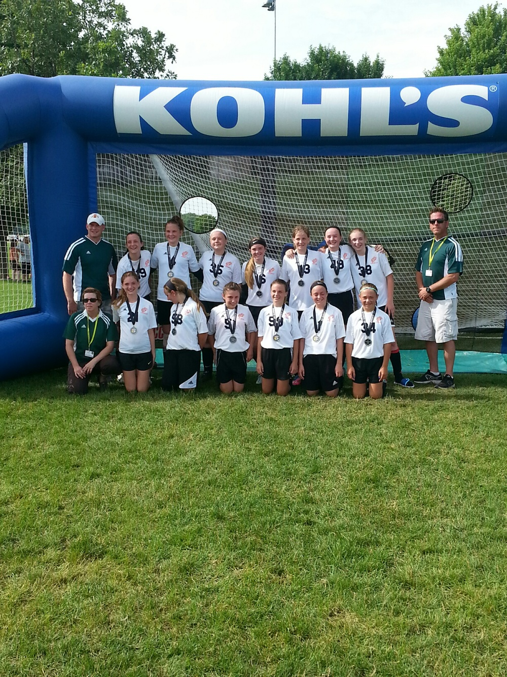 U12 Runners-Up VSA
