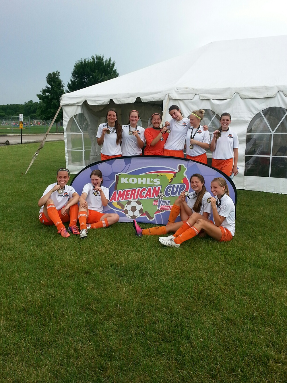 U14 Champs Pleasant Hill Crushers