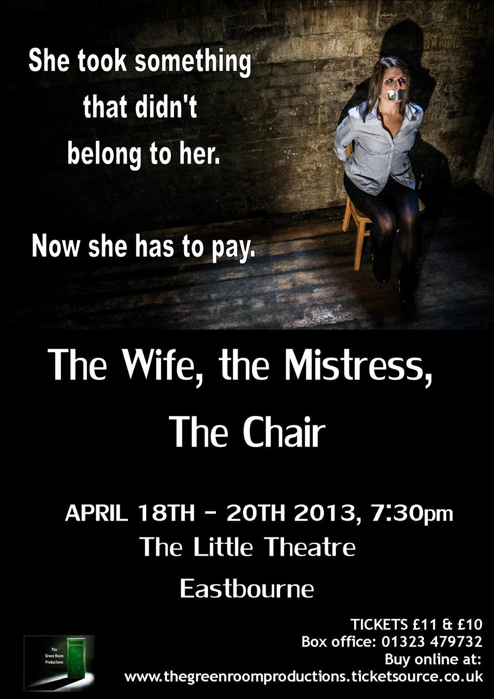 The Wife, The Mistress, The Chair
