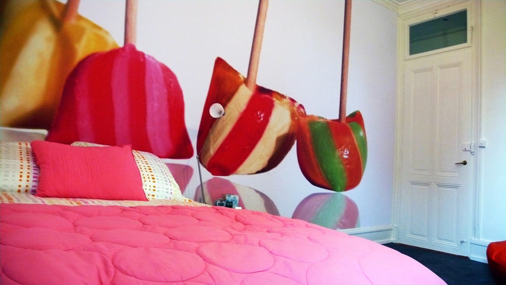 Lollipops dans une chambre très acidulée...  Genève 2007
