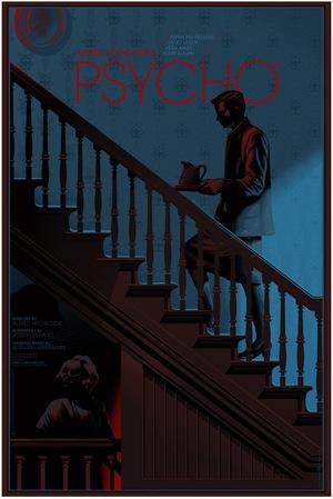 Carteles de cine Psycho