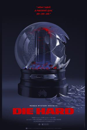 die hard mondo mystery movie - Halloween Mondo Poster