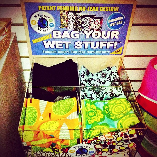 Bag your wet stuff !  (Taken with  Instagram )