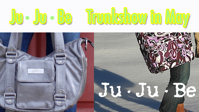 Ju Ju Be Trunkshow the entire month of May